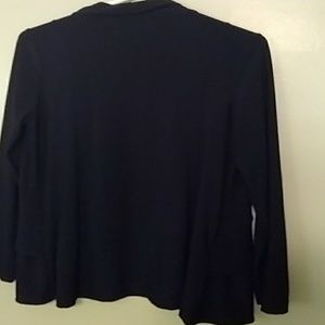 csc Sweaters - 🚦 3 for $10  blue ruffle cardigan